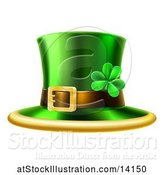 Vector Illustration of St Patricks Day Leprechaun Hat by AtStockIllustration