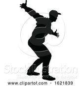 Vector Illustration of Street Dance Dancer Silhouette by AtStockIllustration