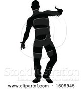 Vector Illustration of Street Dance Dancer Silhouettes by AtStockIllustration