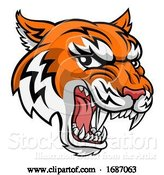 Vector Illustration of Tiger Animal Mascot by AtStockIllustration