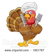 Vector Illustration of Turkey Chef Thanksgiving or Christmas by AtStockIllustration