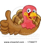 Vector Illustration of Turkey Thanksgiving or Christmas Character by AtStockIllustration