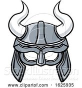 Vector Illustration of Viking Helmet by AtStockIllustration