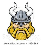 Vector Illustration of Viking Sports Character Mascot by AtStockIllustration