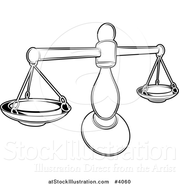 Zodiac Line Drawing : Libra scale coloring pages