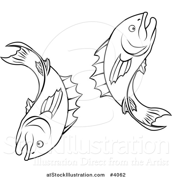 Zodiac Line Drawing : Vector illustration of a black and white line drawing