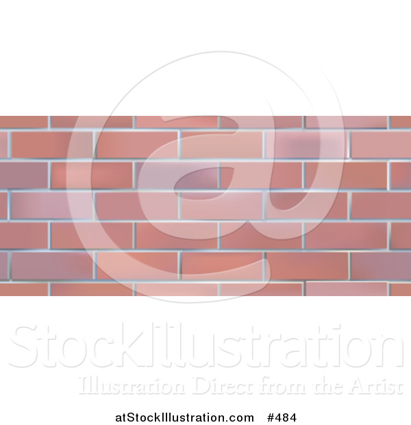 Vector Illustration of a Brick Wall Background