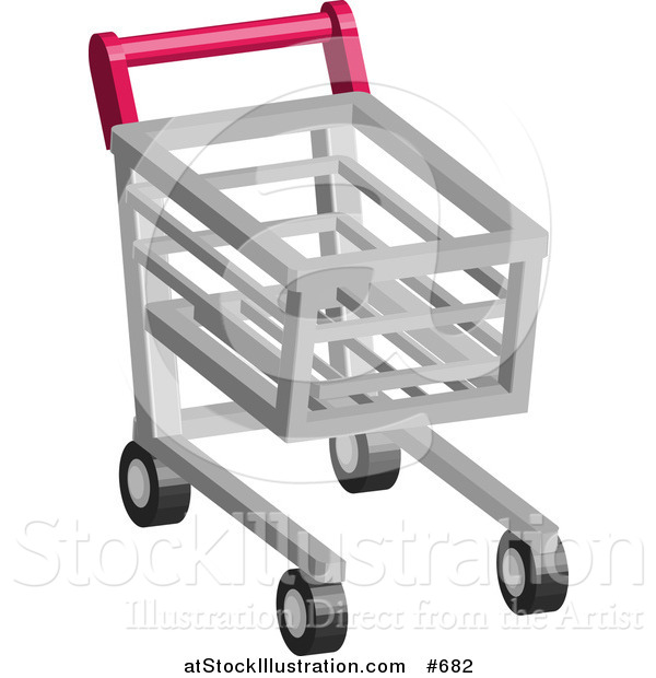 Vector Illustration of a Shopping Cart