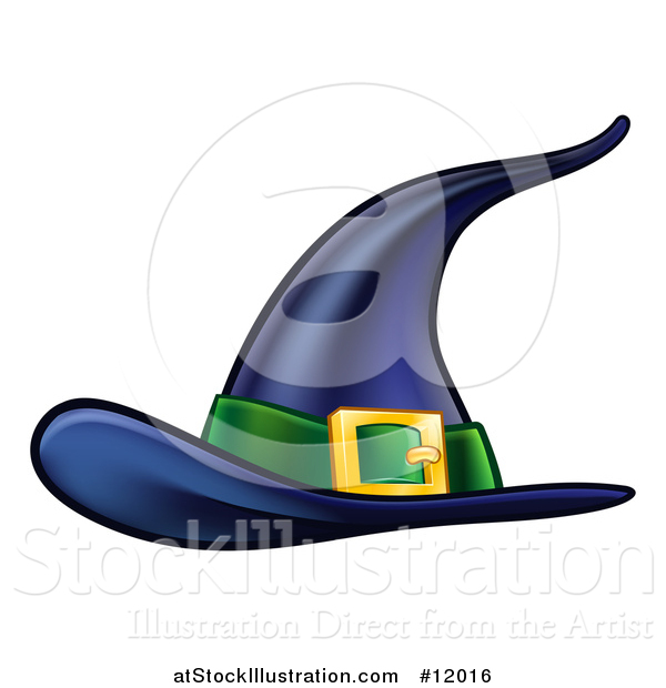 Vector Illustration of a Witch Hat