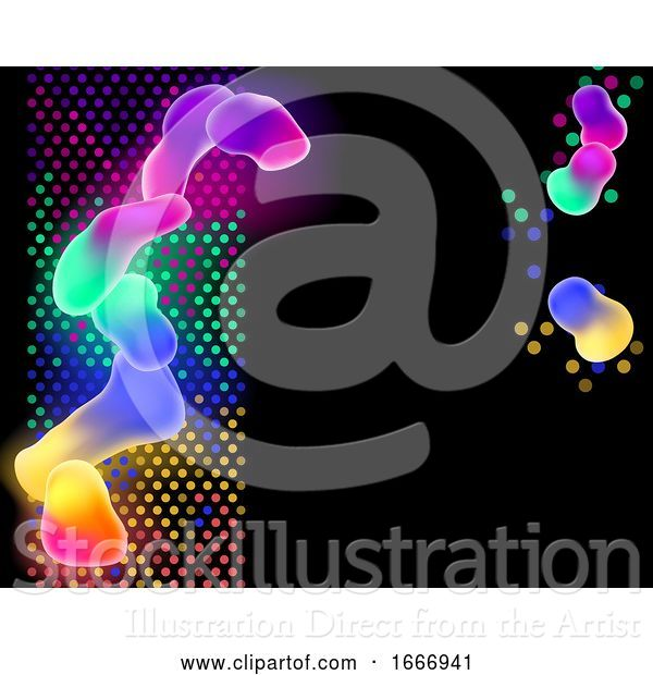 Vector Illustration of Colorful Abstract Background