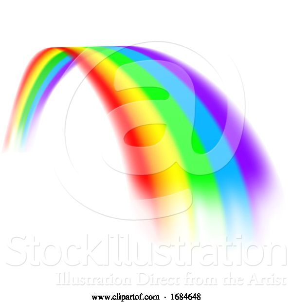 Vector Illustration of Rainbow Design