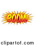 Vector Illustration of a Comic Styled BOOM Explosion by AtStockIllustration