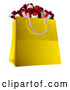 Vector Illustration of a Shopping Bag Full of Christmas Gifts by AtStockIllustration