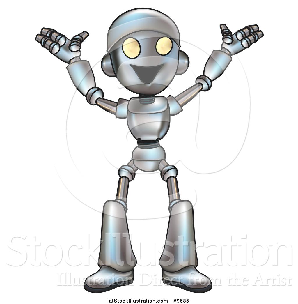 Artificial Intelligence Illustration Robots